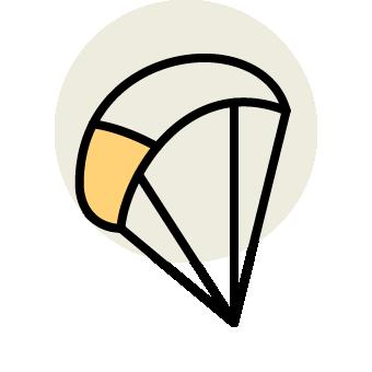 Icon paragleiten
