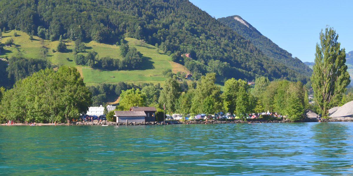 Camping Hopfräben vom See